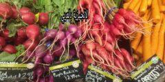 المحادثة مع بائع الخضر والفواكه بالإنجليزي